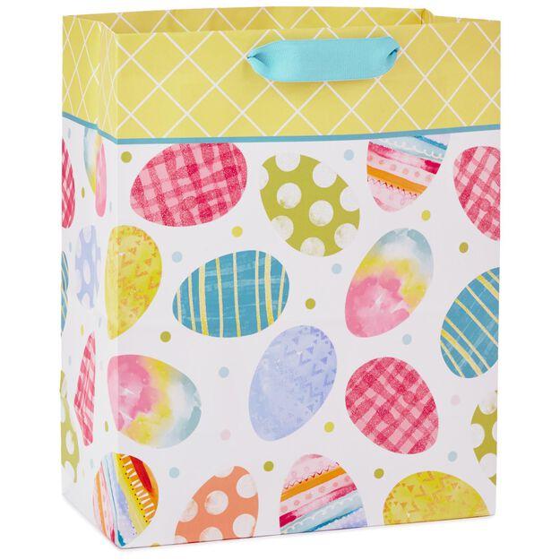 Easter eggs large gift bag 13 gift bags hallmark easter eggs large gift bag negle Images