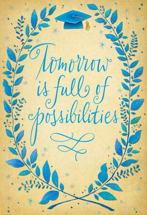 Possibilities of Tomorrow Graduation Card