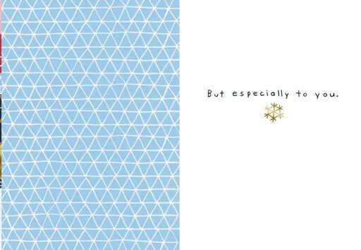 Peace and Joy to Everyone Christmas Card,