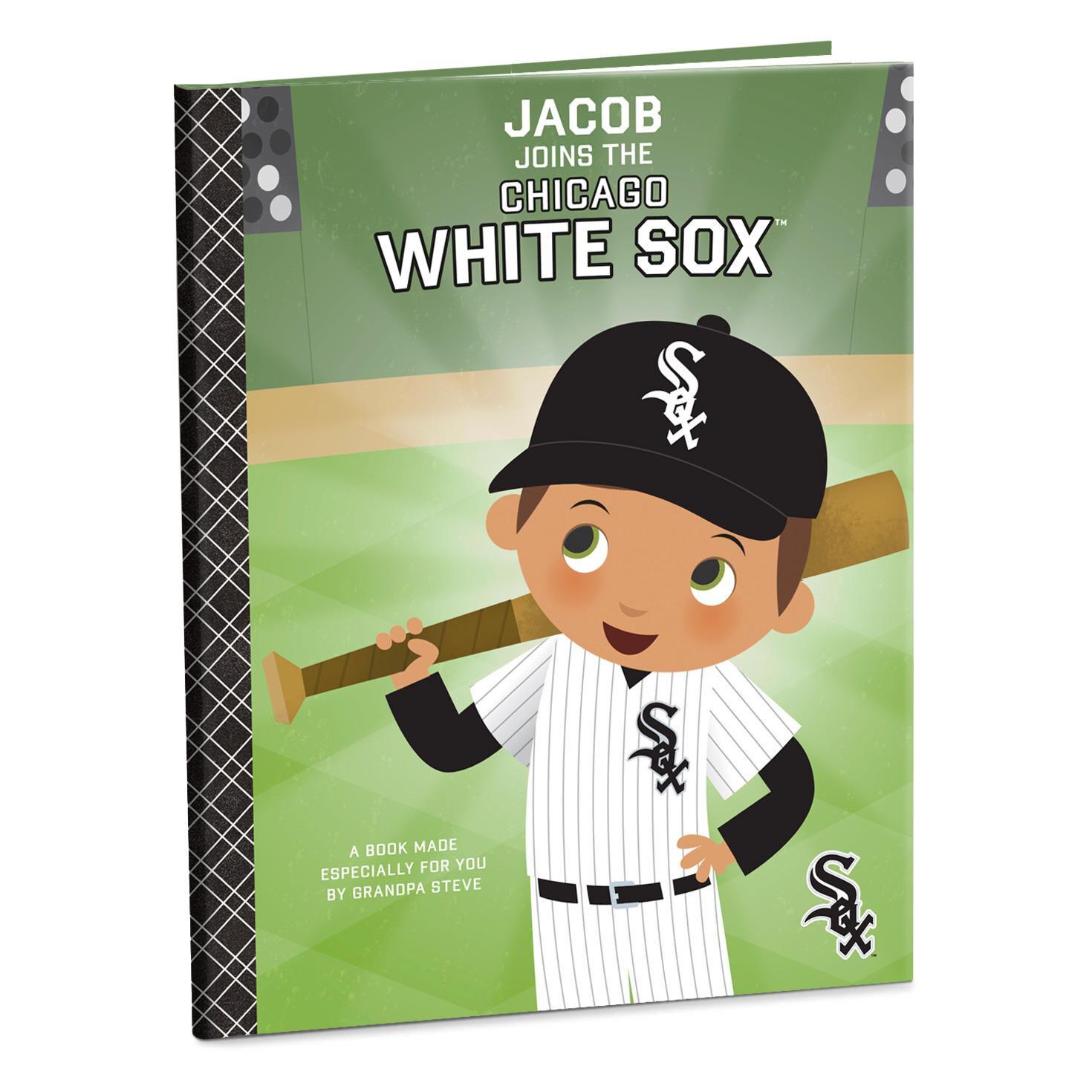 chicago white sox™ personalized book - personalized books - hallmark