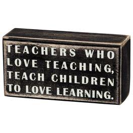 Primitives by Kathy Teachers Box Sign, , large