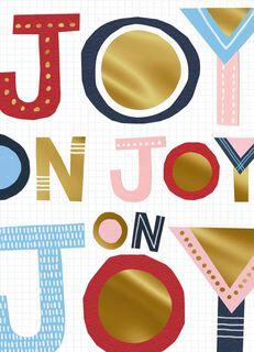 Get Your Joy on Christmas Card,