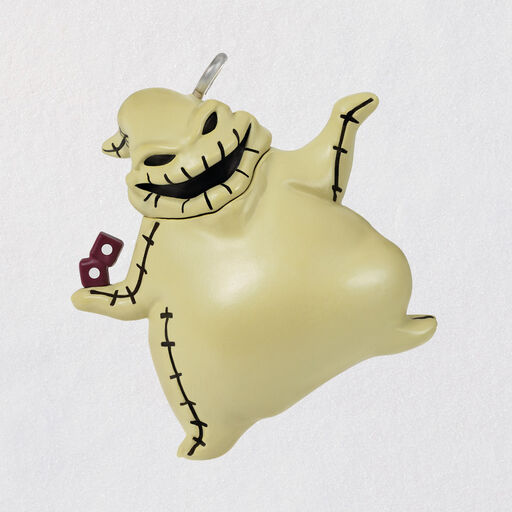 NEW! DISNEY HALLMARK Nightmare Before Christmas OOGIE BOOGIE Ornament