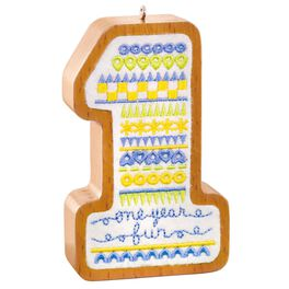1 Year Old Ornament, , large