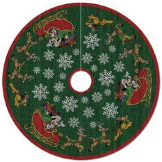 Mickey Mouse Oh, What Fun! Tree Skirt With Light ...