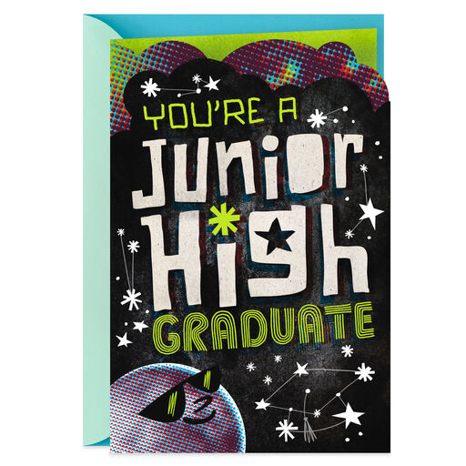 Youre A Junior High Graduate Greeting Card