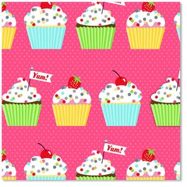 Confetti Sprinkles and Cupcakes Wrapping Paper Roll, , large