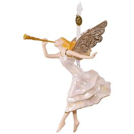 Angel of Winter Wonder Premium Porcelain Ornament, , large