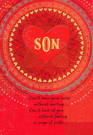 Son, You Are Loved Valentine's Day Card