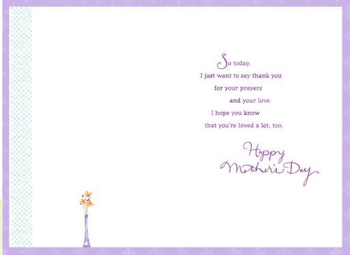 Thank You for Your Love Mother's Day Card for Godmother,