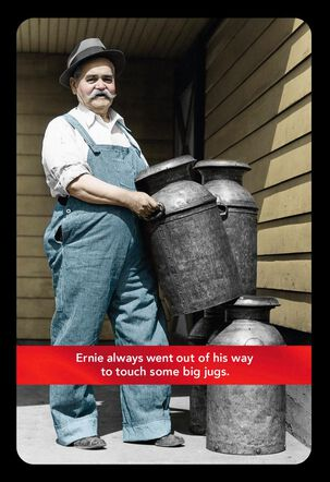 Big Jugs Funny Birthday Card