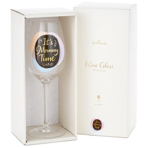 c670aecc7269 ... Mommy Time Wine Glass