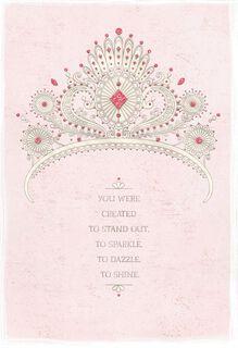 Sparkle, Dazzle, Shine Quinceañera Card,