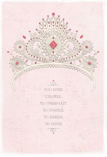 Quinceanera greeting cards sparkle dazzle shine quinceaera card m4hsunfo Image collections
