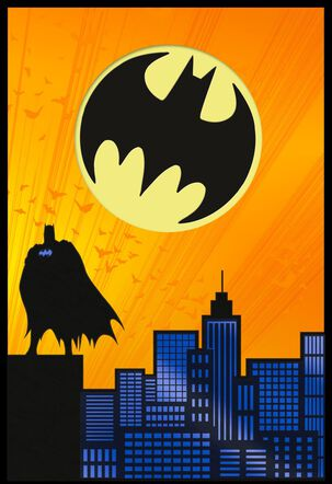 DC Comics™ Batman™ Extraordinary Birthday Card With Sticker