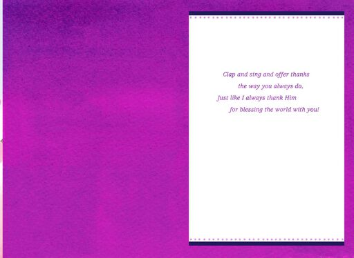 Blessed by You Mother's Day Card,