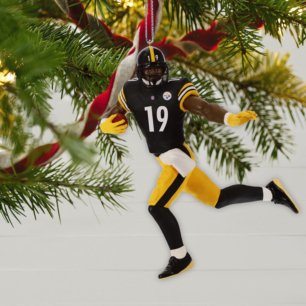 Steelers Christmas Ornaments.Nfl Pittsburgh Steelers Juju Smith Schuster Ornament