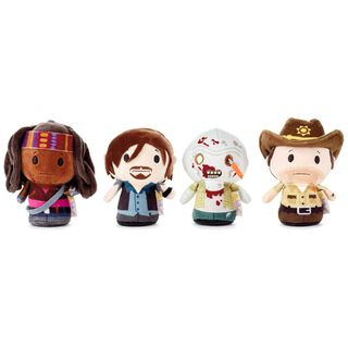 itty bittys® The Walking Dead Plush, Collectors Set of 4,