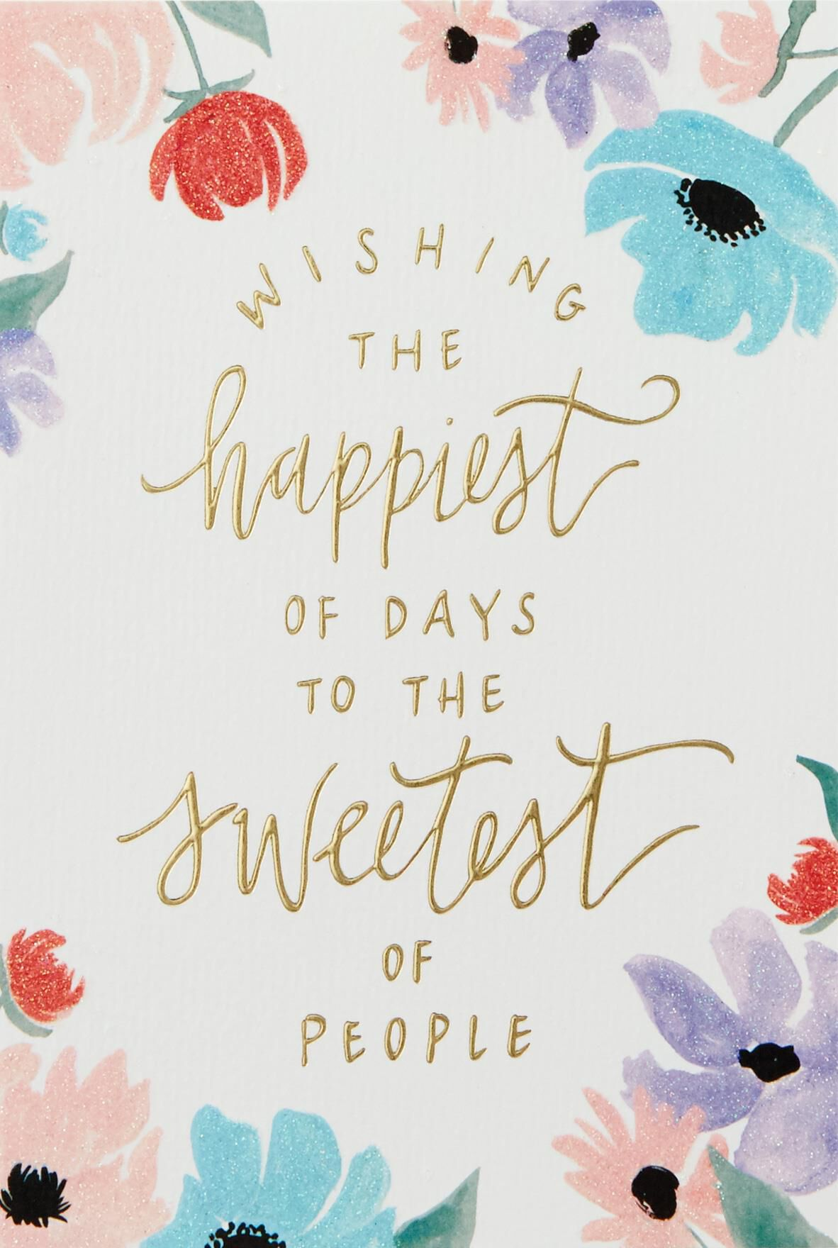 You re the Sweetest Birthday Card Greeting Cards Hallmark