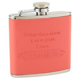 No Regrets Flask, , large