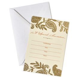Elegant Special Occasion Invitations, Pack of 10, , large