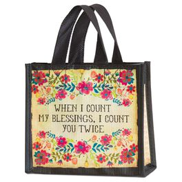 Natural Life Count My Blessings Gift Bag, Small, , large