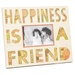 Peanuts® Happiness Is a Friend Picture Frame, 6x4, , large