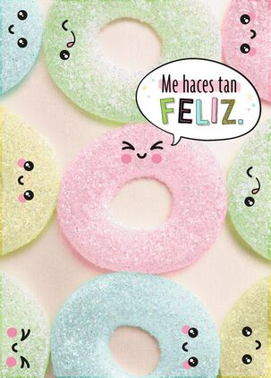 Sweet Treats Spanish-Language Friendship Card