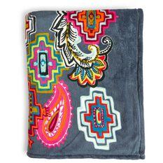 Vera Bradley Throw Blanket In Painted Medallions Pillows