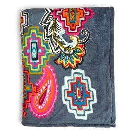 Vera Bradley Throw Blanket in Painted Medallions, , large