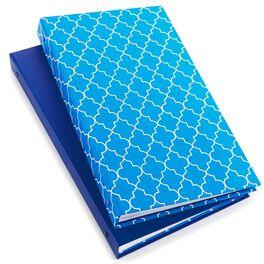 Geometric and Blue Photo Album Set of 2, , large
