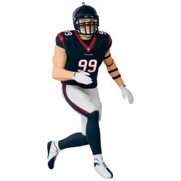 NFL Houston Texans J. J. Watt Ornament, , large