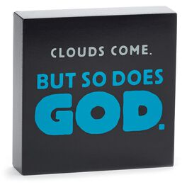 Clouds Come Sentiment Print, , large