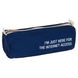 About Face Here for the Internet Access Pencil Case, , large