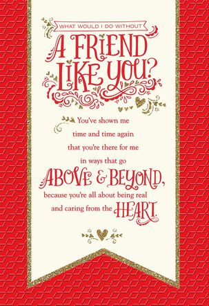 You're in My Heart Valentine's Day Card for Friend
