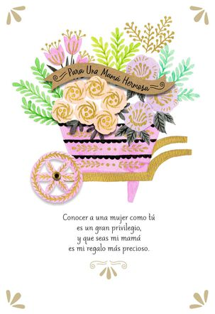 A Beautiful Mom Spanish-Language Mother's Day Card