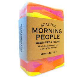 Morning People Soap, 6 oz., , large
