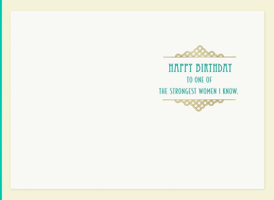 The Strongest Women Birthday Card Greeting Cards Hallmark