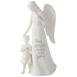 Guardian Angel With Girl Figurine, , large
