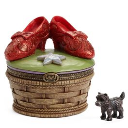 Jim Shore THE WIZARD OF OZ™ Ruby Slippers Treasure Box, , large
