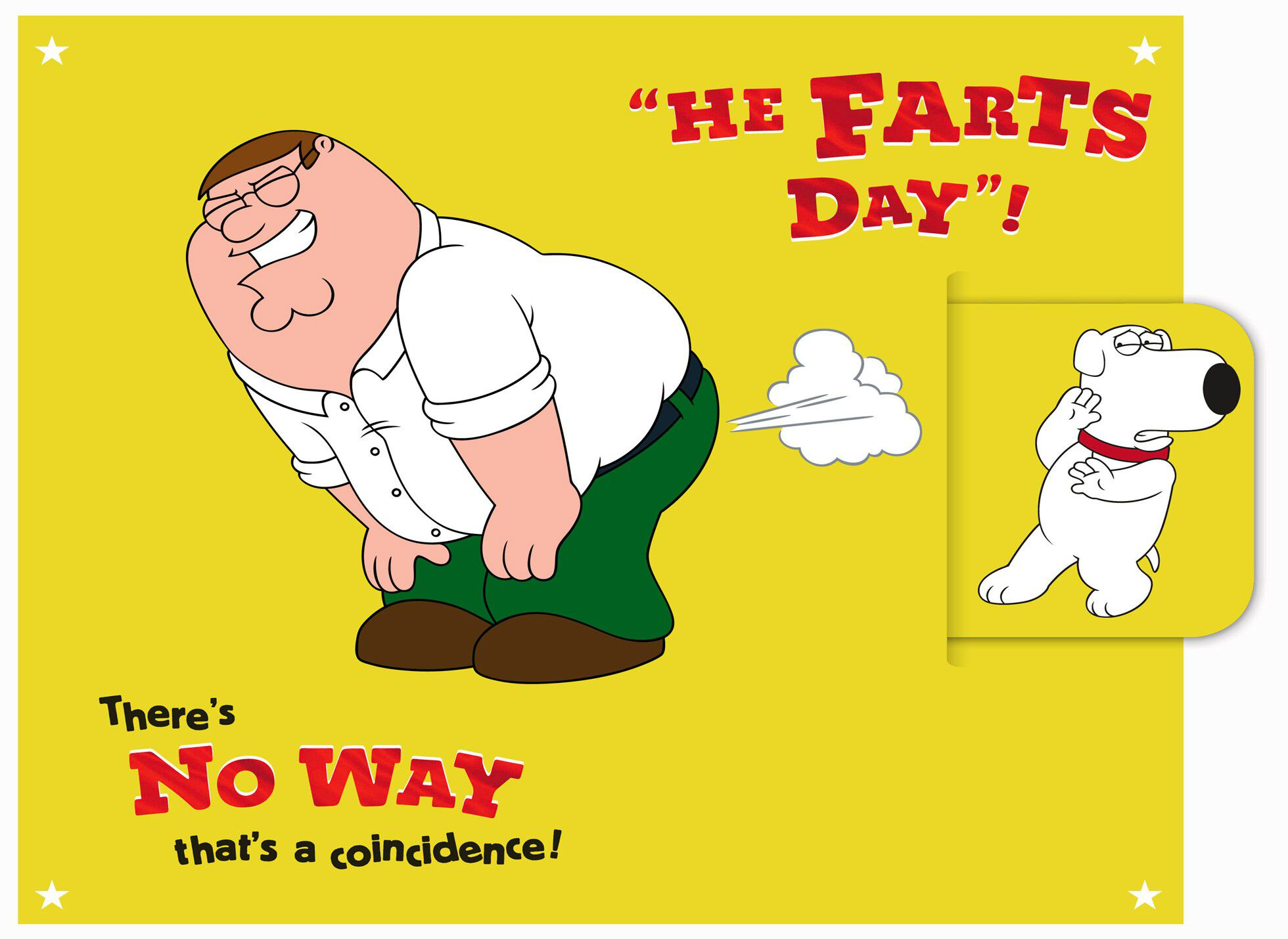 Family Guy™ Funny Father's Day Card - End of Life - Hallmark