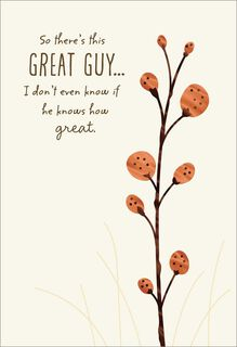 Great Guy Father's Day Card,