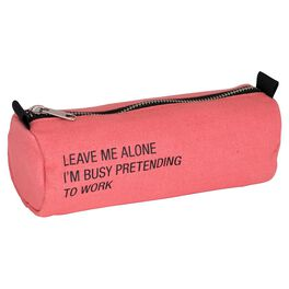 About Face Busy Pretending to Work Pencil Case, , large