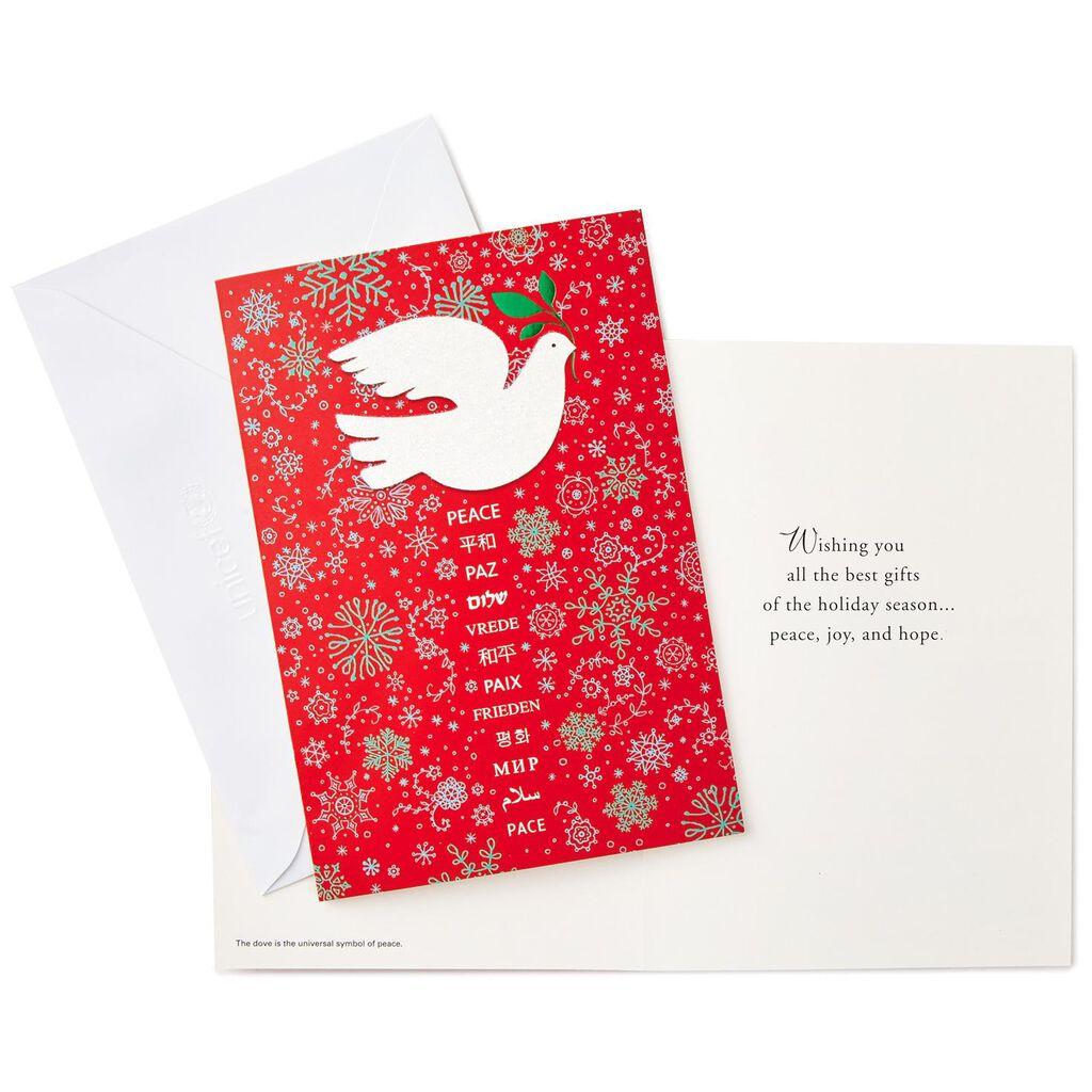 UNICEF Peace Dove Christmas Cards, Box of 12 - Boxed Cards - Hallmark