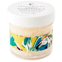 Sweet Honeysuckle Foaming Bath Salts, 2 oz., , large