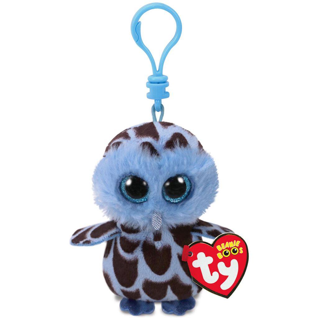50bffbe63af Ty® Beanie Boos Yago Blue Owl Stuffed Animal Clip - Classic Stuffed Animals  - Hallmark