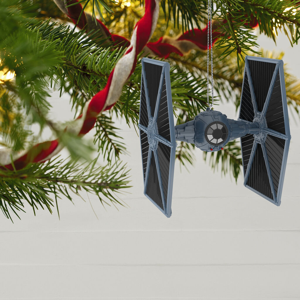 Star Wars Tie Fighter Ornament With Light And Sound Keepsake