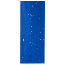 Fiesta Blue With Sparkles Tissue Paper, 4 Sheets, , large