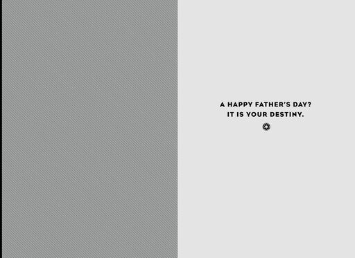 Darth Vader™ Destiny Father's Day Card,