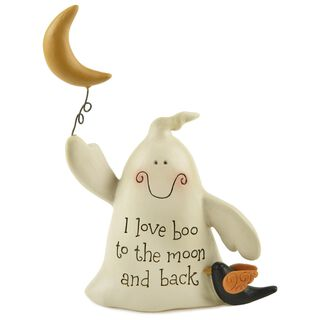 I Love Boo Ghost Figurine,